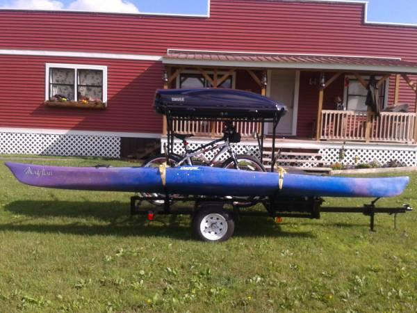 **WE BUILD CUSTOM KAYAK ~ CANOE ~ BIKE ~ HAULER / RACK