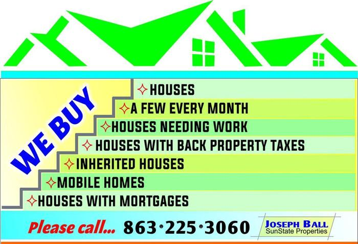 WE BUY HOUSES QUICK AND EASY