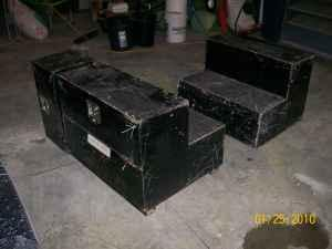 Weathergaurd pack rat tool box for Welder Flatbed - $250 (McLouth)