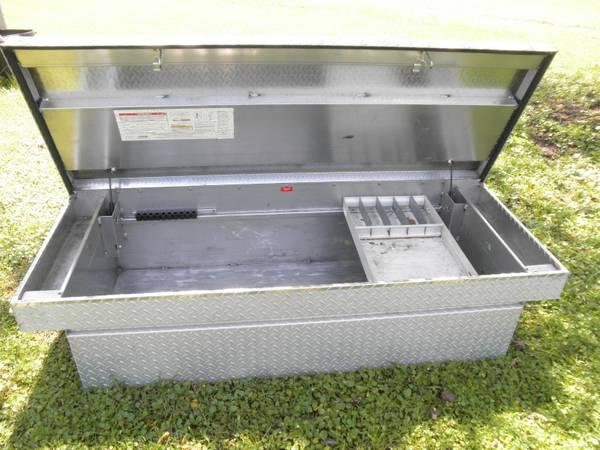 Weatherguard Diamondplate Toolbox - $150