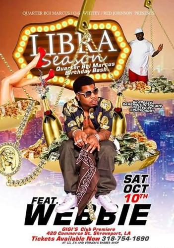WEBBIE LIVE in Shreveport