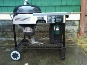 Weber Performer Hybrid Gas Charcoal Grill With