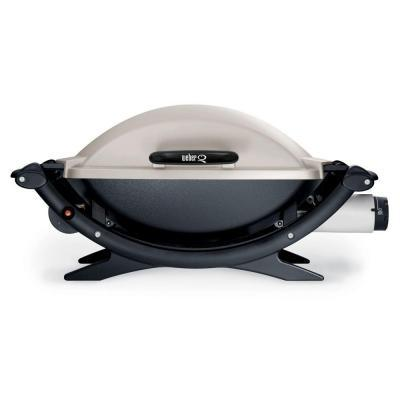 weber q 200 portable propane gas grill for sale in. Black Bedroom Furniture Sets. Home Design Ideas