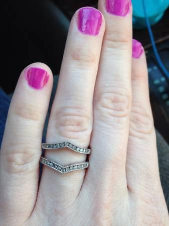 Wedding band for solitaire - $675