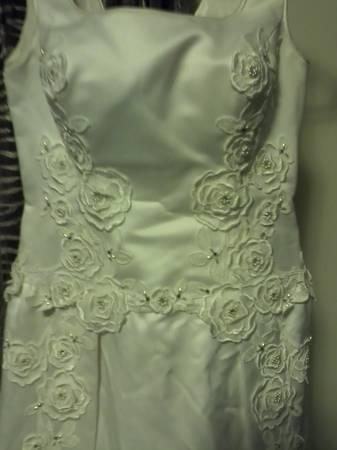wedding dress - $50