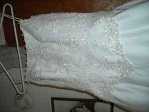 Wedding Dress, White - $200 (crystal river, fl)