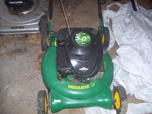 Weed Eater Lawn Mower (Push Mower)