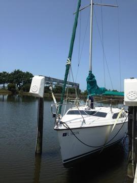 Weekender sailboat
