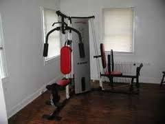 Weider Pro 4250 Weight Stack and Rack Home Gym Set -