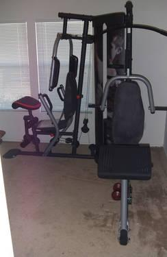 weider pro 4950 weight system home gym for sale in saint