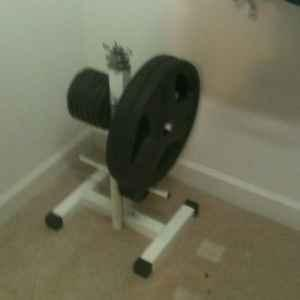Weider Pro 800 Weight Bench And 250 Lbs Of Weight
