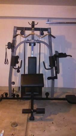 Weider pro series home gym classifieds buy sell weider