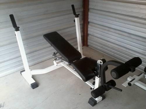 Weight Bench And Lat Pull Row For Sale In Wilson North