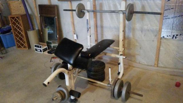 Weight Bench And Weights For Sale In Belle Center Ohio Classified