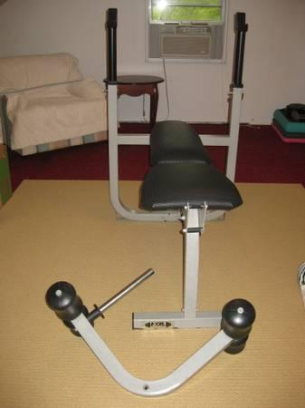 Weight Bench With Leg Attachment For Sale In Morgantown