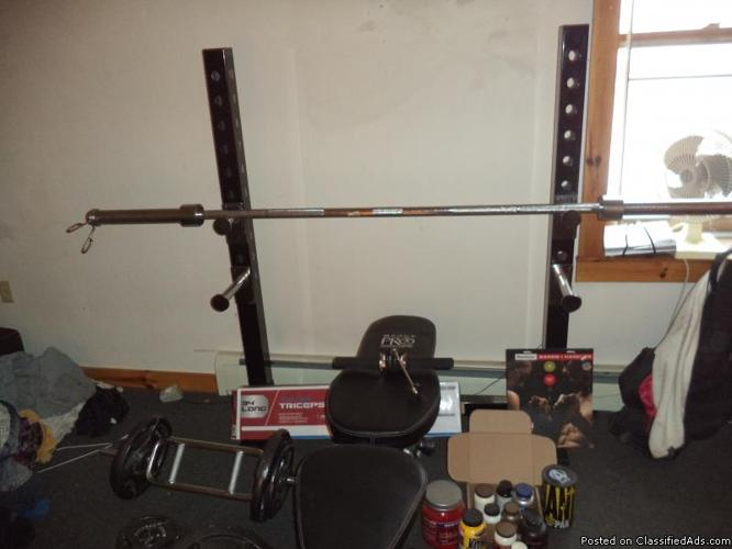 Body Vision 827 Weight Bench Classifieds Buy Sell Body Vision