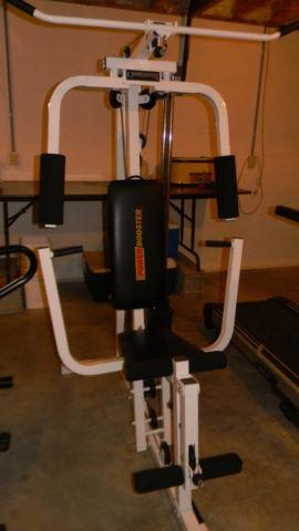 Weight Machine by Power Booster