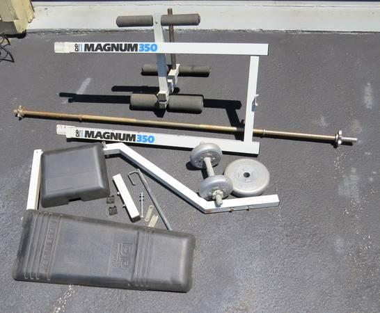 Weight Workout Bench Set Plus For Sale In Coatesville Pennsylvania Classified