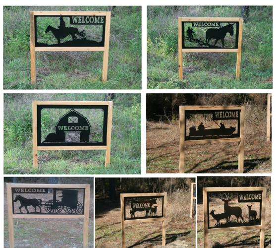 Welcome Signs For Your Driveway Or Cabin Blountstown