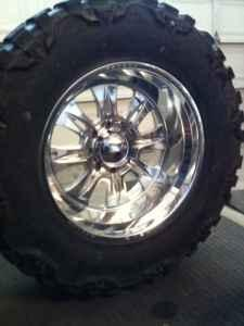 Weld Rims 22x12 Cheyennes And 22x12 Velocity 8x6 5 For