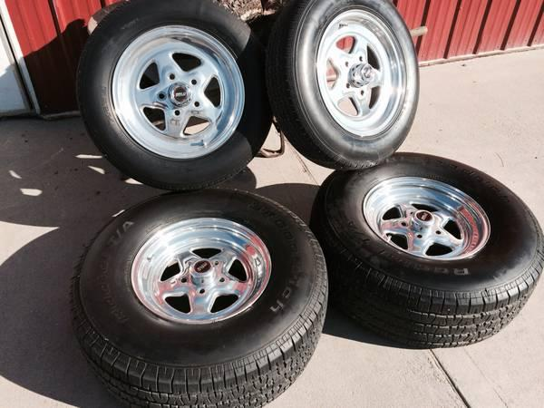 WELD WHEELS with TIRES 285-70 -15 CHEVY - for Sale in ...