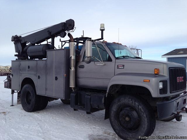 Welding Service Boom Truck For Sale In Logan North Dakota