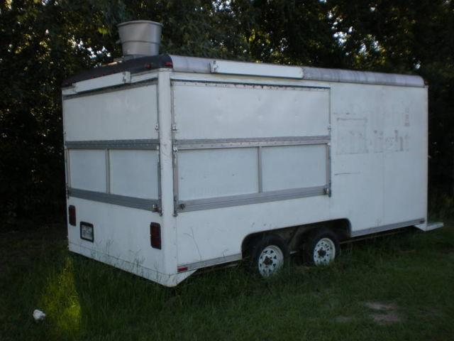 Wells Cargo Concession Trailer