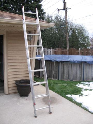 Werner 16ft Aluminum Extension Ladder