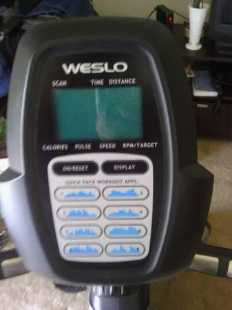 WESLO EXERCISE BIKE - $225