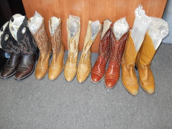 Western Boots, shirts  jeans