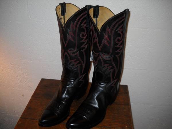 2b5f8085c01 Western cowboy boots Custom Made by PAUL BOND Men7.5 W9 - $400
