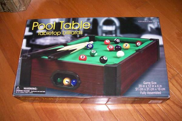 WESTMINSTER Pool Table Tabletop   $25