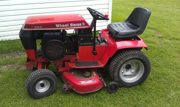 Wheel Horse Tractor 312 Home And Garden For In The Usa Gardening Supply Tools Americanlisted