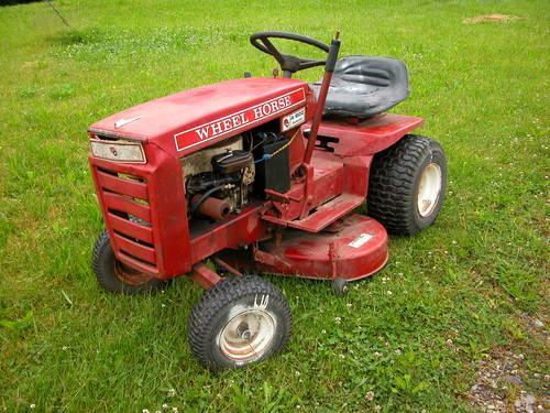 Wheel Horse A 800 A 800 Ranger Vintage Garden Tractor