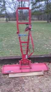 wheel horse plow - $125 (rockford)