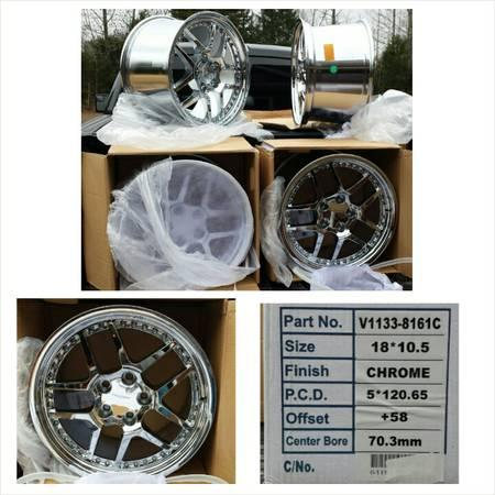 Wheel Replicas V1133 Chevrolet Corvette Z06 Chrome
