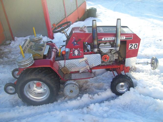 Wheelhorse Pulling Tractor For Sale In Williamsport Pennsylvania Classified