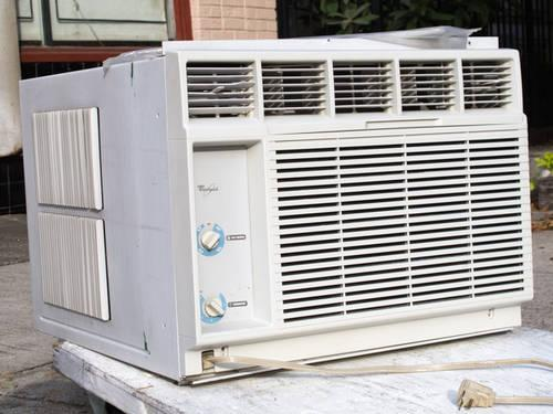 Whirlpool 18 000btu Window Wall Air Conditioner Works