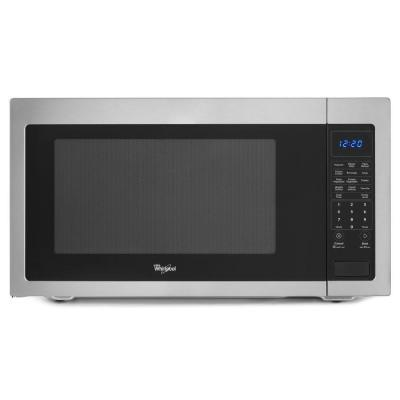Whirlpool 2.2 cu. ft. Countertop Microwave in Stainless
