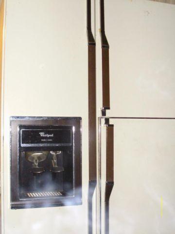 Whirlpool 3 door refrigerator