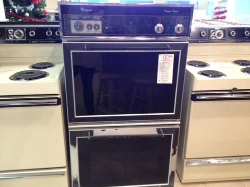 Whirlpool 30 Quot Black Double Built In Wall Oven Used For