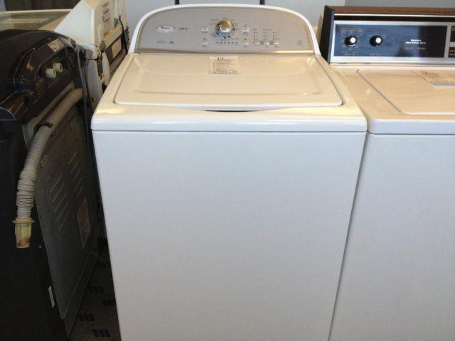 whirlpool cabrio he top load washer without agitator