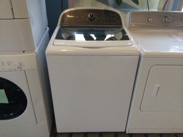 whirlpool cabrio top load washing machine