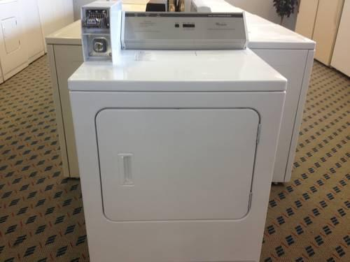 Whirlpool Coin Operated Heavy Duty Commercial Dryer Used