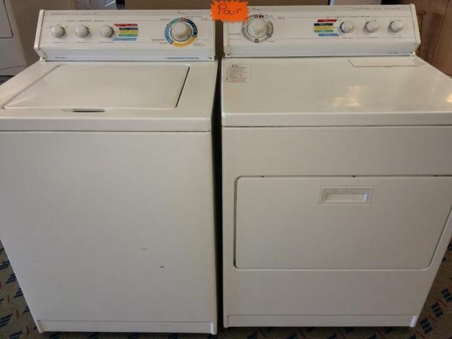 Whirlpool Cycle Logic Washer Dryer Set Pair Used For