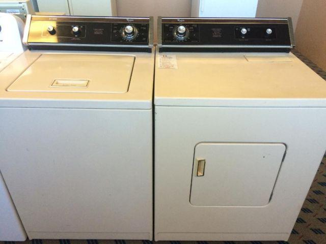 Design Whirlpool whirlpool design 2000 washer dryer set pair used for sale in