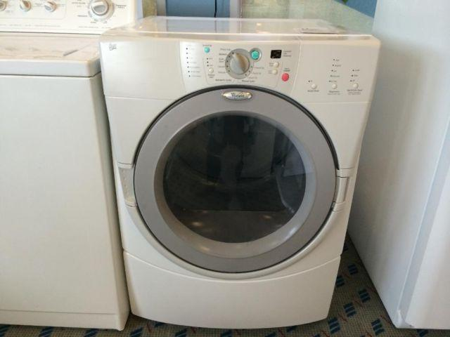 Whirlpool Duet Front Load Clothes Dryer Used For Sale In