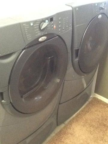 Whirlpool Duet Front Load Washer and Dryer
