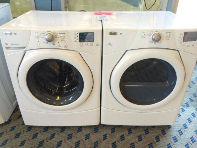 Whirlpool Duet Front Load Washer Amp Dryer Set Pair Used