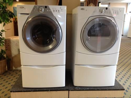Whirlpool Duet Sport Front Load Washer Amp Dryer On